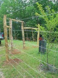 diy garden fence deer fence