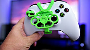 Oivo xbox one wireless controller şarj istasyonu göstergeli dock. Official Xbox One Controller Mini Steering Wheel 3d Printed Etsy