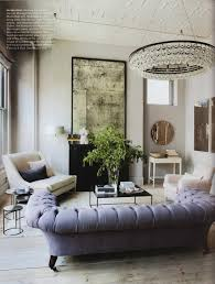 Elegant White Elle Home Interior Decor Idea For Living Room With ...