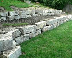 landscaping block ideas image of river rock retaining wall concrete block retaining wall ideas
