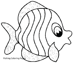 Coloring Pages Fishing Trustbanksurinamecom