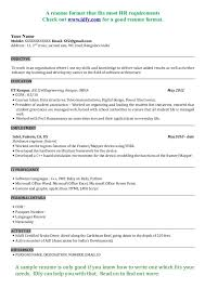 Civil Engineer Resume Format Free Download Pdf The Best