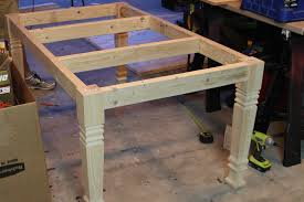 endearing diy dining room table plans with diy farmhouse table free plans rogue engineer
