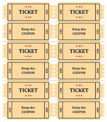 Draw Tickets Template Free Printable Raffle Ticket Template Raffle Ticket Templates