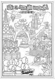 These disney coloring pdf pages are great party activities too. How To Create Disney Magic At Home