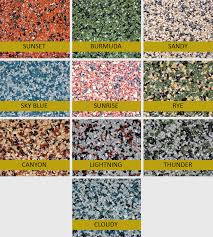 polylast flooring systems for dogs comes in a range of colors and