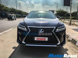 Lexus RX 450h Spied In Delhi, Deliveries Commence In Early 2017 ...