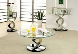 3 piece modern wood and glass coffee table set singapore 4 regarding glass coffee table set of 3