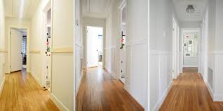 how to add character and charm to boring architecture and houses half wall paneling board and