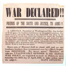 The Civil War Begins - Civil War Lesson Plans