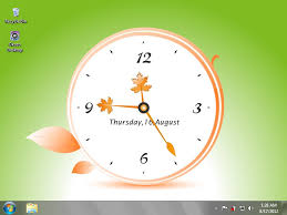good clock wallpaper for desktop 8