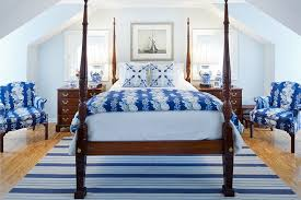 Blue And White Interiors: Living Rooms, Kitchens, Bedrooms And More
