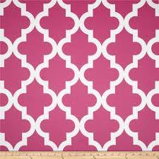 RCA Trellis Blackout Drapery Fabric Hot Pink - Discount Designer Fabric -  Fabric.com