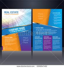 property pamphlet flyer pamphlet brochure poster cover design stock vector 1008847462
