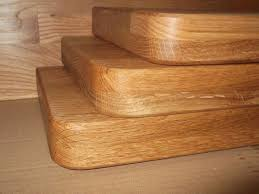 Oak Corner Floating Shelves Interesting Some Of My Solid Oak Floating Shelves With Rounded Corners And