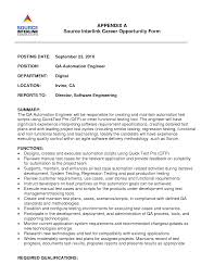 resume examples for quality engineers online resume resume examples for quality engineers quality system engineer resume example quality also qa engineer resume s