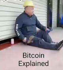 And that actually hurt really bad xd Bitcoin Explained 9gag