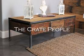 vineyard coffee table the crate people