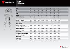 Dainese Motorcycle Suit Sizing Chart Disrespect1st Com