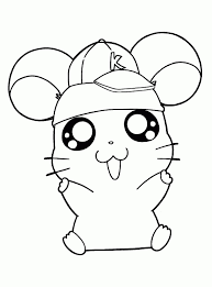Small Picture Hamster Coloring Pages Ppinewsco