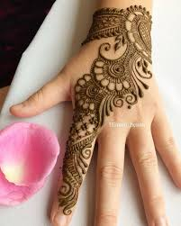 A Beautiful Mehndi Designs