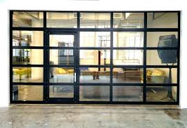 Commercial Roll Up Doors Glass Roll Up Doors Glass And Aluminum Roll