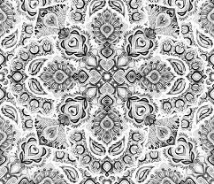 Bohemian Pattern Impressive Black White Bohemian Medallion Pattern Wallpaper Micklyn