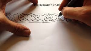 Viking Patterns Adorable How To Draw Celtic Patterns 48 Viking Interlace Triskele Part 48