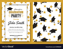 Graduation Party Template Invitation