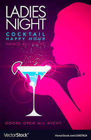 Party Template Template Party Event Happy Hour Ladies Night Flyer