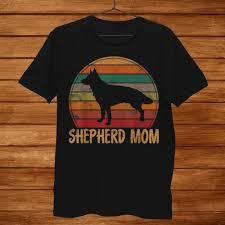 Retro German Shepherd Mom Gift Dog ...