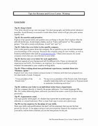 Post Resume For Government Jobs Inspirational Cover Letter For