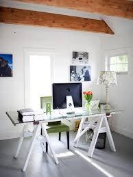 diy home office decor ideas easy. DIY Sawhorse Desk. Repurposed Door Makes Chic Desk Diy Home Office Decor Ideas Easy D