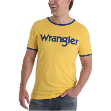Wrangler Jacket Size Chart Wrangler Mens Retro Kabel Logo Graphic T Shirt