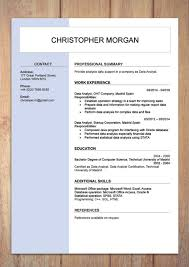 Sample Resumes In Word Cv Resume Templates Examples Doc Word Download
