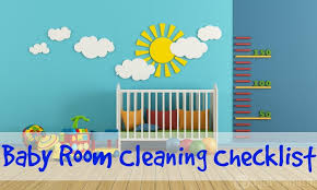 baby room checklist. Free Printable Baby Room Cleaning Checklist