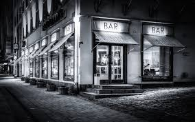 Resultado de imagen de escribir en un bar blanco y negro
