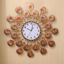 full image for bright wall clock decor idea 13 wall clock interior design fabulous diy wall