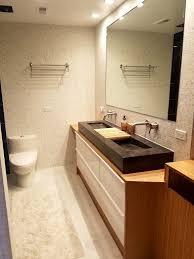 Bamboo Vanity Bathroom Adorable Bamboo Plywood Wrapped Godmorgon For Modern Bathroom Vanity IKEA