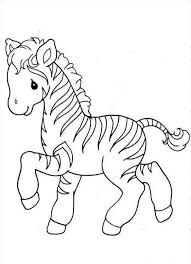 Small Picture Cute Ba Zebra Coloring Page Free Printable Coloring Pages Color