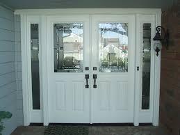 glass double door exterior. Double Entry Door With Sidelights Doors Glass Exterior D