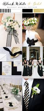 elegant black and white wedding updated top 10 wedding color scheme ideas for 2018 trends