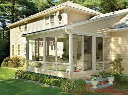 cottage house plans with screened porch glass wall