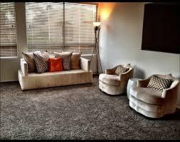 upholstery contemporary living room idea in orange county california shag black 4 ft