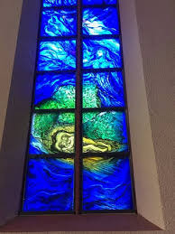 catholic church of st martin unique contemporary stained glass