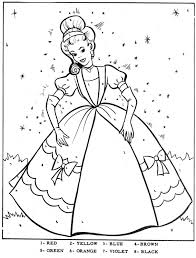 Cinderella Colouring Book With Cinderella Coloring Pages New