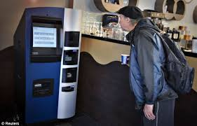 Bitcoin Vending Machine Custom Bitcoin Vending Machine Robocoin Launched In Canadian Coffee Shop