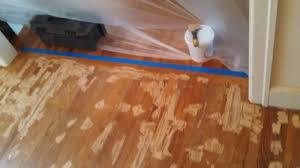 pine floor repair