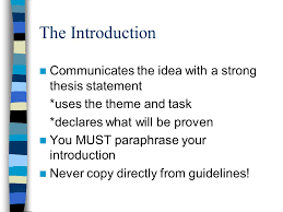 how to write a thematic essay introduction   essayhow to write a thematic essay before you begin writing an