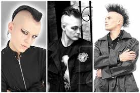 Coupe De Cheveux Punk Rock Homme Coupes De Cheveux Et